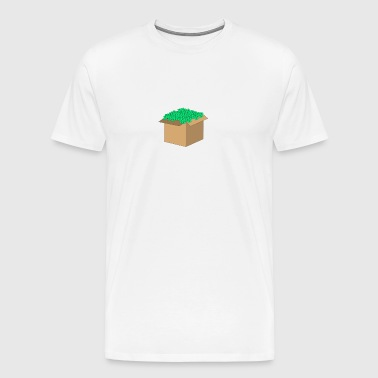 Money carton - Men's Premium T-Shirt