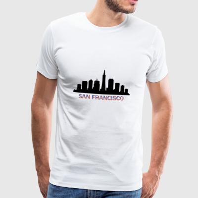 san francisco skyline - Men's Premium T-Shirt