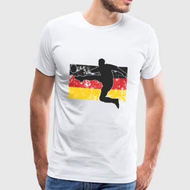 Football Germany black red gold - Men's Premium T-Shirt