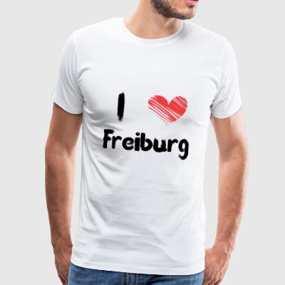J'adore Fribourg - T-shirt Premium Homme
