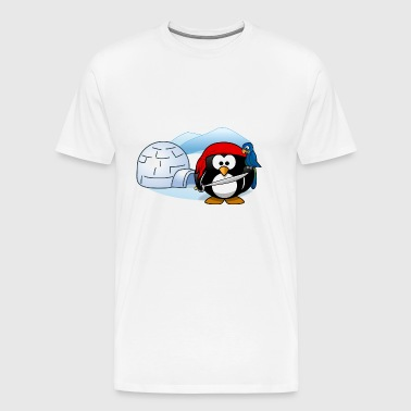 Pirate avec Igloo - T-shirt Premium Homme