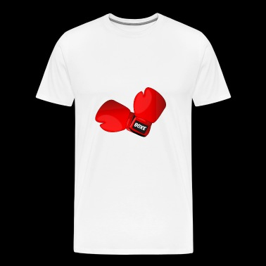 Red boxing gloves boxing gloves - Men's Premium T-Shirt