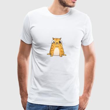 Ethereum CryptoKitties twitch De toekomst is Meow - Mannen Premium T-shirt