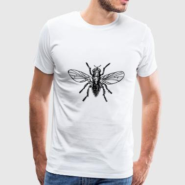 Fly Fly Insect Insects Animal Animals - Men's Premium T-Shirt