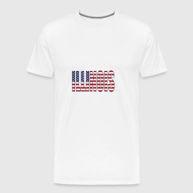 Illinois USA - Men's Premium T-Shirt