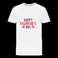 Happy Valentineu0027s Day Valentinstag 2018 Geschenk   Männer Premium T Shirt