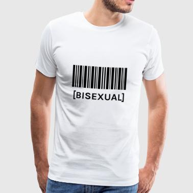 Barcode BISEXUAL - Men's Premium T-Shirt