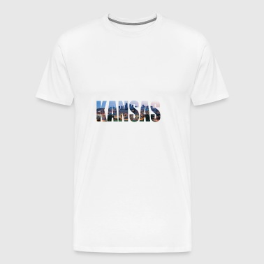 KANSAS USA - T-shirt Premium Homme