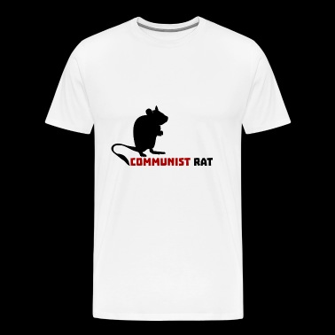 Rat communiste - T-shirt Premium Homme