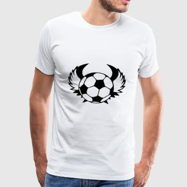 Football logo / football logo - Men's Premium T-Shirt