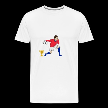 World Cup France målmand - Herre premium T-shirt