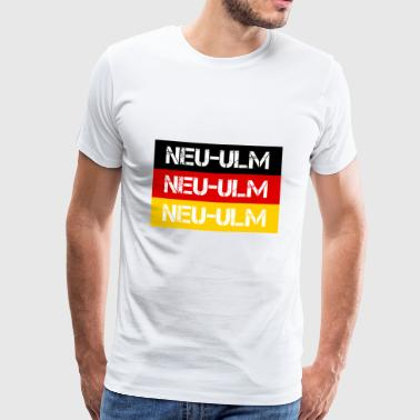 CITY NEW-ULM, GERMANY - Men's Premium T-Shirt