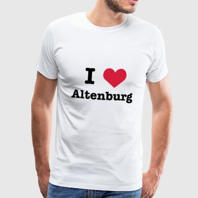 I love (heart) Altenburg - Männer Premium T-Shirt
