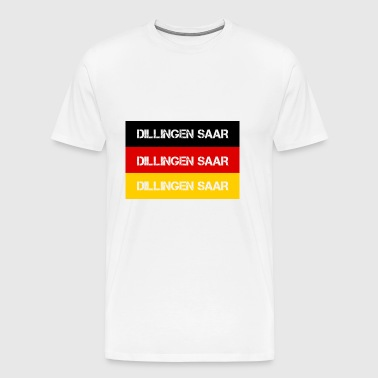 STADT DILLINGEN SAAR, GERMANY - Men's Premium T-Shirt