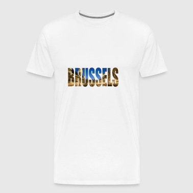 brussels Belgium - Men's Premium T-Shirt