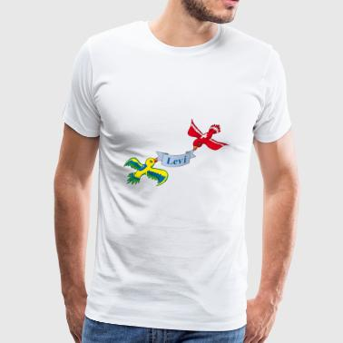 Birds Levi - Men's Premium T-Shirt