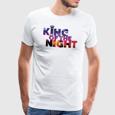 King Of The Night • Für Partylöwen mit Humor! - Männer Premium T-Shirt