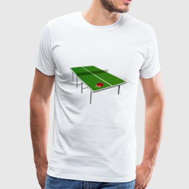bordtennis - Premium-T-shirt herr