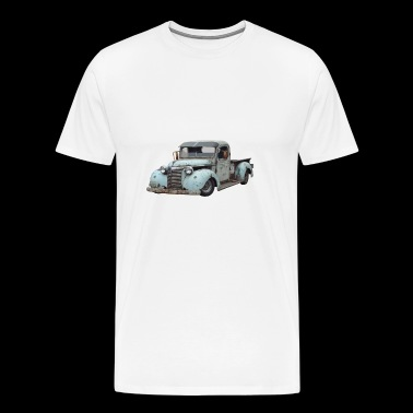 Oldtimer Pick Up - Mannen Premium T-shirt