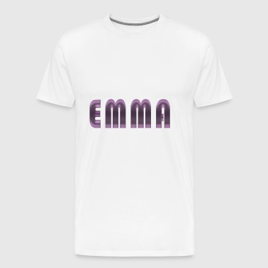 Emma name first name name day birth gift idea - Men's Premium T-Shirt