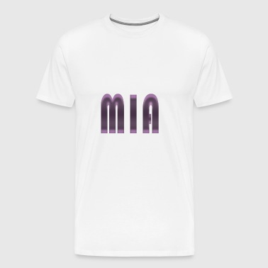 Name Mia First name Name day Birth Gift idea - Men's Premium T-Shirt