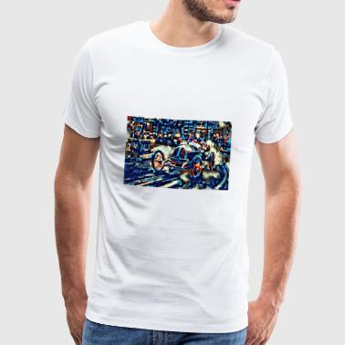 René Thomas - 1913 French Grand Prix - Männer Premium T-Shirt
