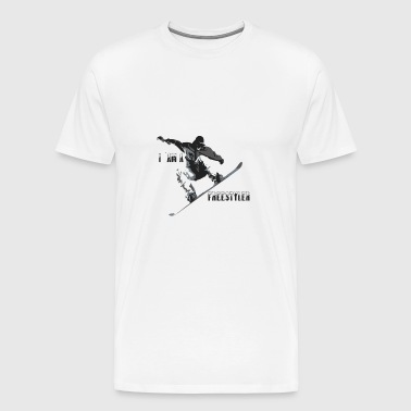 Freestyler - Herre premium T-shirt