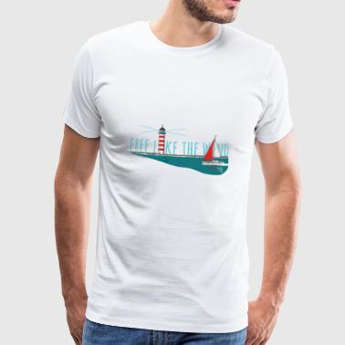 Free like the wind - Männer Premium T-Shirt