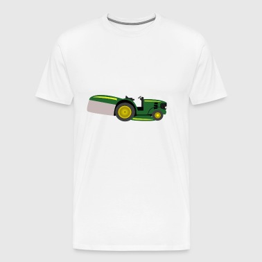mowing machine - Men's Premium T-Shirt