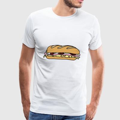 sandwich - Premium T-skjorte for menn