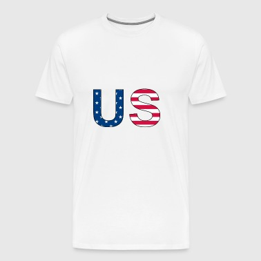 US - stars and stripes - Männer Premium T-Shirt