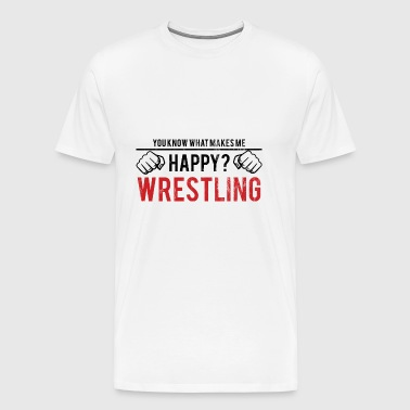 You Know What Makes - Vintage Wrestling Gift - Men's Premium T-Shirt