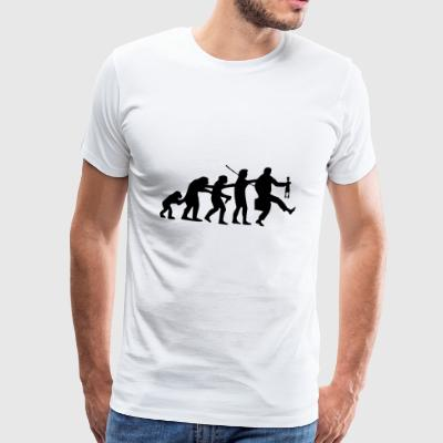 Polonasution | Evolution | Schlager Music Polonaise - Men's Premium T-Shirt