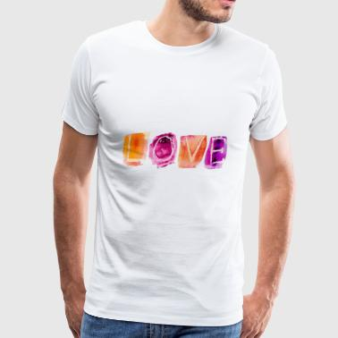 Liebe - Love - Men's Premium T-Shirt