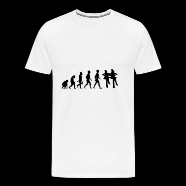 dance music waltz tango disco dance11 - Men's Premium T-Shirt