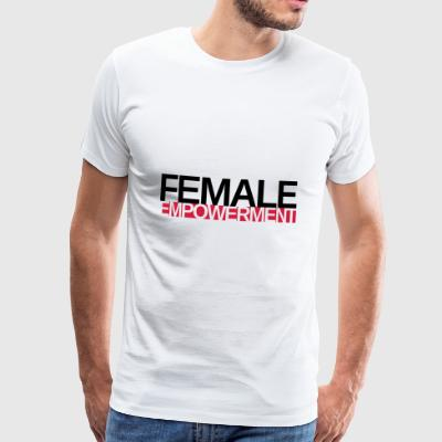 Female Empowerment Girls empower / Gender Hipster - Männer Premium T-Shirt