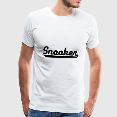 2541614 15470244 snooker - Men's Premium T-Shirt