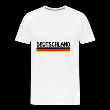 Football Allemagne 2018 - flag - T-shirt Premium Homme