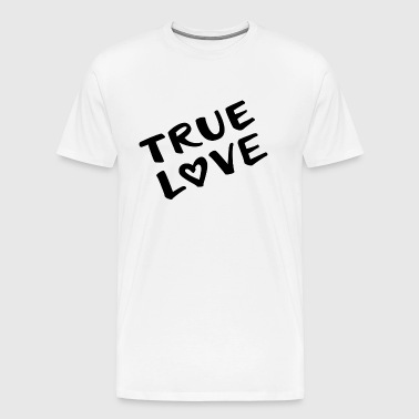 true love true love - Men's Premium T-Shirt