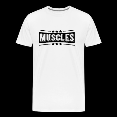 Gym Muscles Gym Training Gym - T-shirt Premium Homme