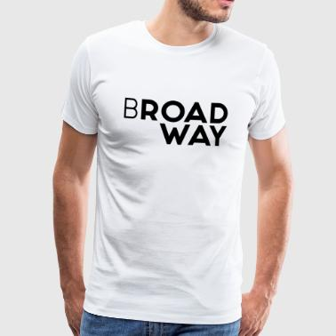 Broadway Collection by HC - Camiseta premium hombre