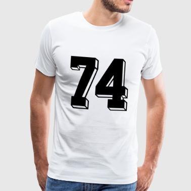 Football 74 - T-shirt Premium Homme