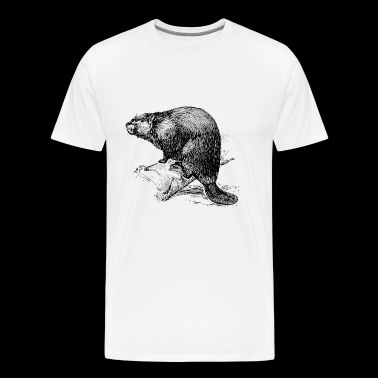 The Beaver - Men's Premium T-Shirt
