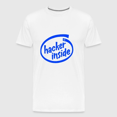 hacker inside - Men's Premium T-Shirt