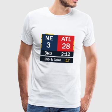 New England comeback - Men's Premium T-Shirt