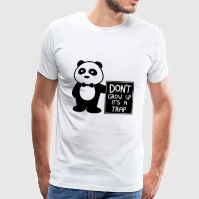 Do not grow up it's a joke - Men's Premium T-Shirt