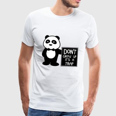 Don't grow up it's a joke - Männer Premium T-Shirt