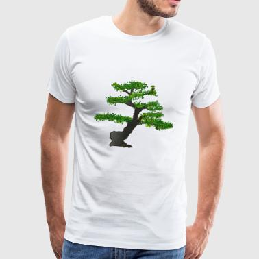 bonsai - Premium T-skjorte for menn