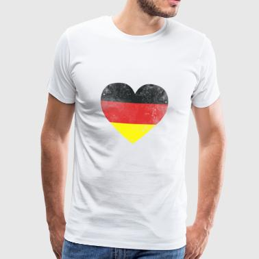 Gift Germany flag german flag german - Men's Premium T-Shirt