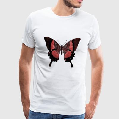 butterfly - Premium T-skjorte for menn